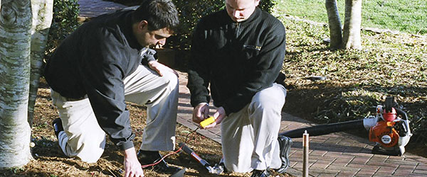 Outdoor Lighting Service and Repair