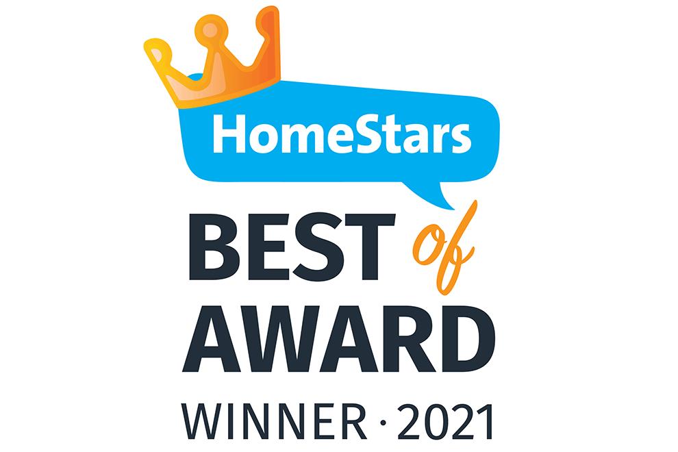 Best of HomeStars Winner 2021